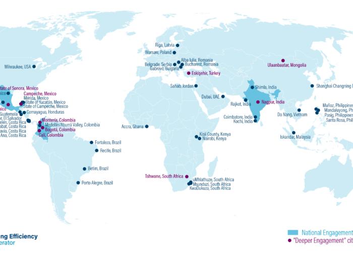 Map of BEA Member Jurisdictions